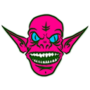download Ice Goblin clipart image with 135 hue color