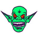 download Ice Goblin clipart image with 315 hue color