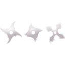 download Shurikens clipart image with 225 hue color