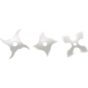 download Shurikens clipart image with 315 hue color