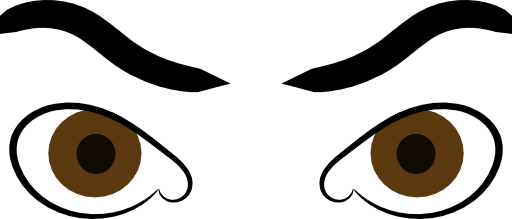 Angry Eyes Clipart | i2Clipart - Royalty Free Public ...