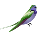 download Hirundo clipart image with 225 hue color