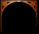 St Patricks Girl Clover Arch