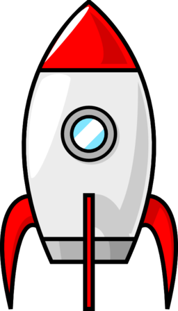 Cartoon moon rocket clipart i2clipart royalty free public domain