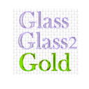 download Glass And Gold Filters clipart image with 45 hue color