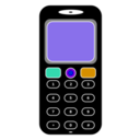 download Mobile Phone clipart image with 45 hue color