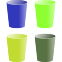 download Cups clipart image with 45 hue color