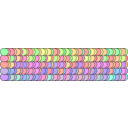 download Rainbow Element clipart image with 45 hue color