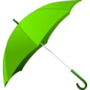 download Red Umbrella clipart image with 90 hue color