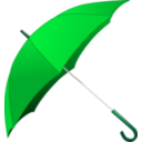 download Red Umbrella clipart image with 135 hue color