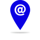download Blue Email Icon clipart image with 45 hue color