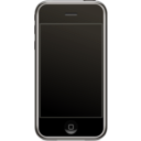 download Iphone Svg clipart image with 180 hue color
