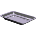 download Silver Tray clipart image with 45 hue color