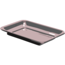 download Silver Tray clipart image with 135 hue color