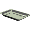 download Silver Tray clipart image with 225 hue color