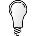 download Lightbulb Off clipart image with 135 hue color