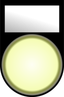 Voyant Blanc Allume White Light On
