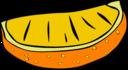 Fast Food Snack Orange Slice