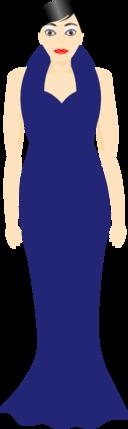 Dressy In Blue