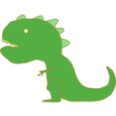 download Dinosaur Dinosaurio clipart image with 45 hue color