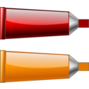 Color Tube Redorange
