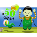 download Celebration clipart image with 45 hue color