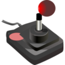 Joystick Black Red Petri 01