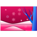download Snow clipart image with 135 hue color