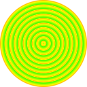 download 48 Circle Solar Target clipart image with 45 hue color