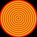 48 Circle Solar Target