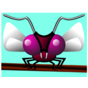 download Mosca clipart image with 315 hue color