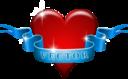 Heart And Ribbon Remix