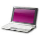 download Netbook clipart image with 225 hue color