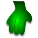 Green Monster Hand 2