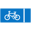 Roadsign Cycle Lane