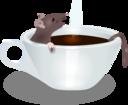 Rat In Coffee