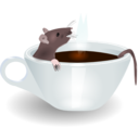 Rat In Coffee