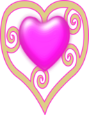 Princess Crown Heart