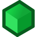 download Icon Cube Green clipart image with 45 hue color