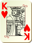 Guyenne Deck King Of Hearts