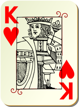 Guyenne Deck King Of Hearts