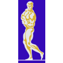 download Bodybuilder 1 By Rones clipart image with 45 hue color