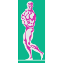 download Bodybuilder 1 By Rones clipart image with 315 hue color