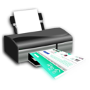 download Openclipart On Printer clipart image with 135 hue color