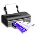 download Openclipart On Printer clipart image with 225 hue color