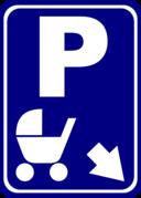 Sign Parking For Perambulators