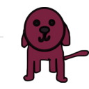 download Little Dog clipart image with 315 hue color