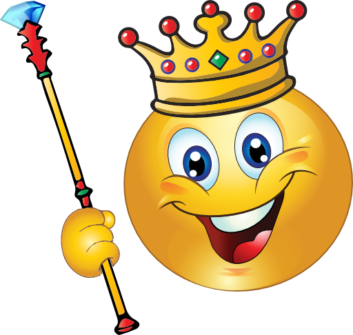 King Smiley Emoticon Clipart I2clipart Royalty Free