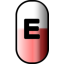 White Red E Pill