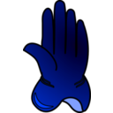 download Glove clipart image with 225 hue color
